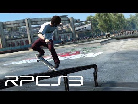RPCS3 - Skate 3 Rendered at 4K