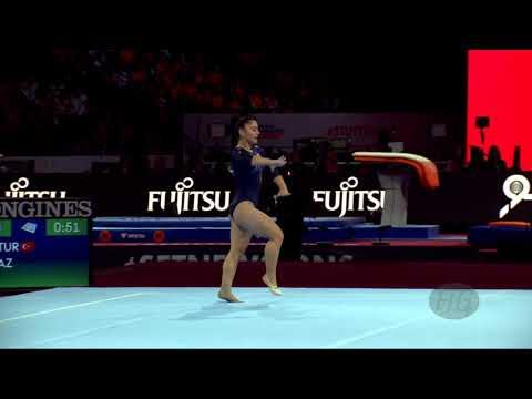 YILMAZ Tutya (TUR) - 2019 Artistic Worlds, Stuttgart (GER) - Qualifications Floor Exercise