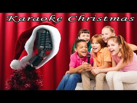 Christmas Songs Karaoke with Lyrics - Singing Christmas for family