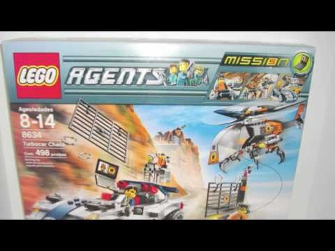 Lego Agents 8634 Turbocar Chase Mission 5 NEW AND RARE ...