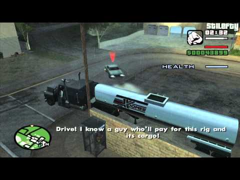 GTA San Andreas - Mission #29 - First Date / Tanker Commander