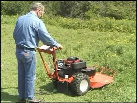 Dr Self Propelled Brush Mower Skiff S Review Youtube