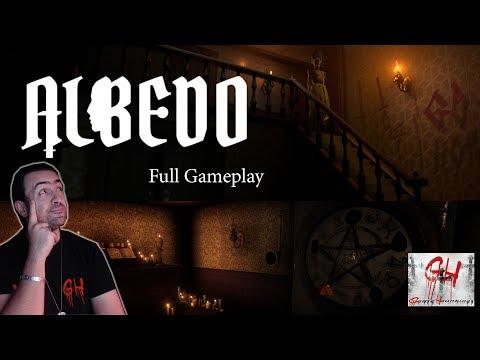Albedo Indie Horror Game   Full Gameplay.