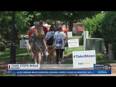 """Take Steps"" walk raises awareness for digestive diseases (KNWA)"