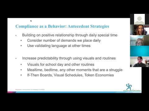 Autism & COVID-19 Webinar 3: Practical Communication Strategies