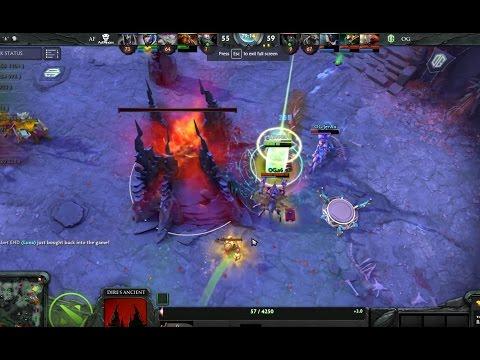 Boston Major  OG vs AD FINEM  Game 3 Earthshaker Double Enchant Totem Finish  1080p 60fps