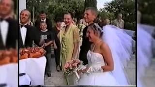 Свадьба Елены и Максима 2001 год Калининград