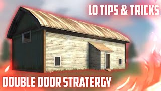 10 DOUBLE DOOR HOUSE SECRET STRATEGY | TIPS AND TRICKS IN FREE FIRE