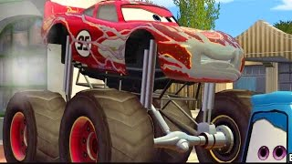 CARS - Mater National Championship -  Monstertruck - Lightning McQueen - McQueen