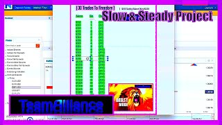 Slow & Steady Project Trade #13 - During A YouTube LIVE Stream.. | #SlowSteady