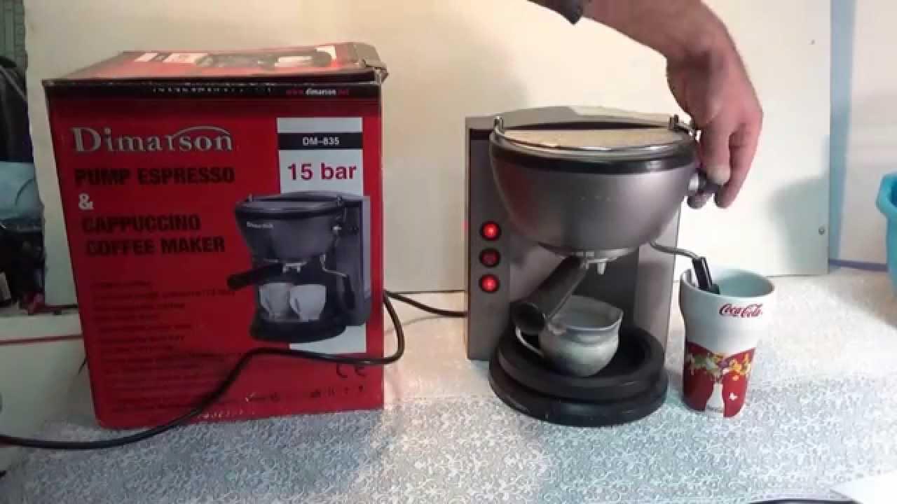 Инструкция для кофеварки dimarson dm 845