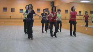 Mambo Rock - Line Dance (Dance & Teach in English & 中文)