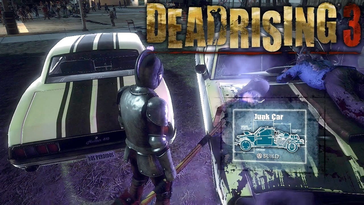 Dead Rising  Vehicle Crafting