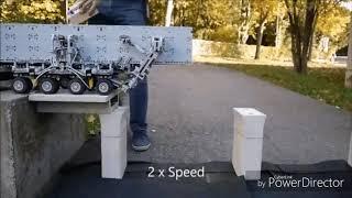 Máquina increíble para construir puentes en miniatura e inventó increíble