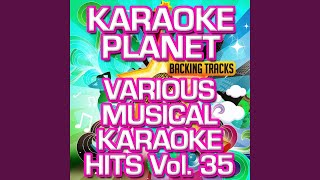 Crazy (Karaoke Version) (Originally Performed by Starlight Express)