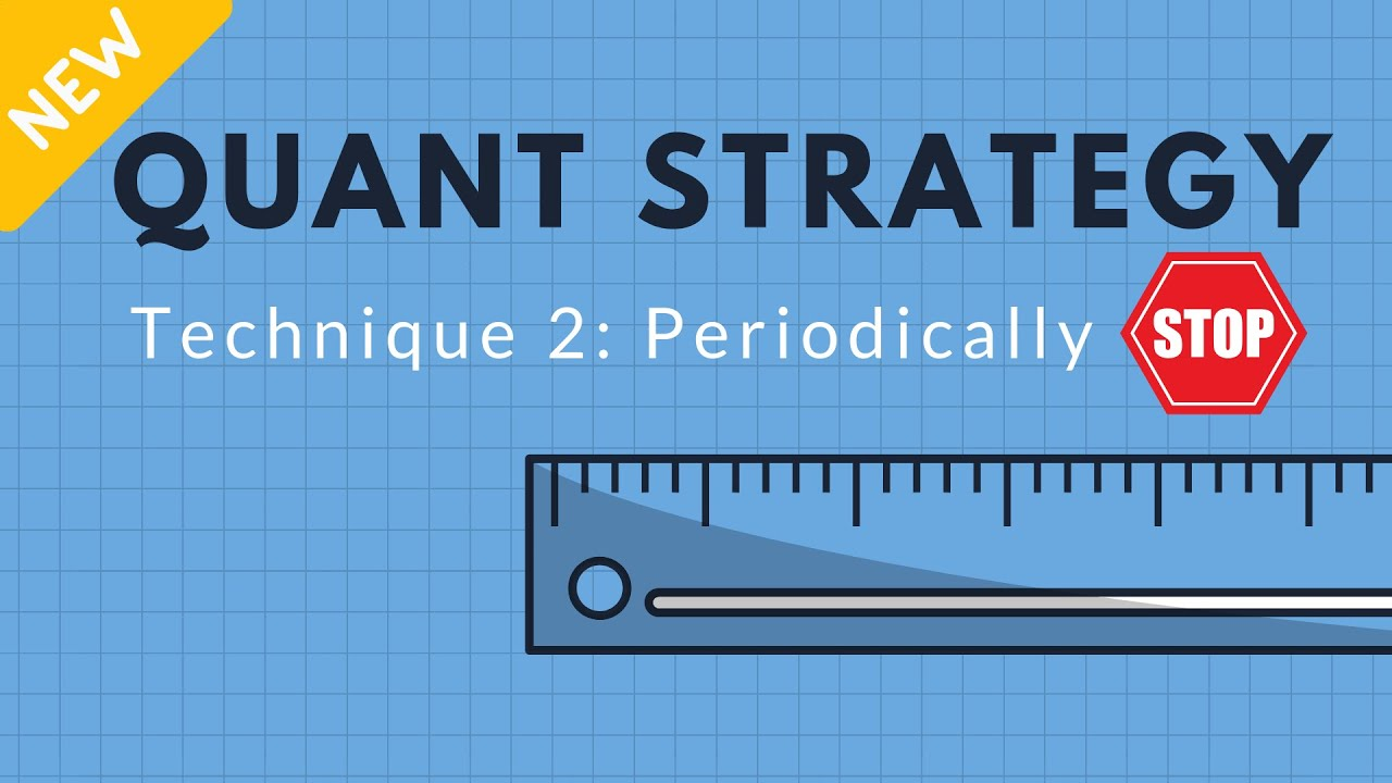 GRE Math/Quant Strategy - Technique 2: Periodically Stop