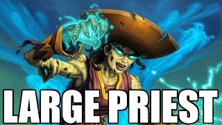 The Largest Of Priests ft. Catrina! (Wild BIG Priest Gameplay) [Hearthstone]