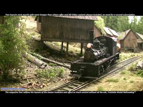 Modelling Railway Train Track Plans -Great Narrow Gauge Model Railroad, one of the best you will ever see.