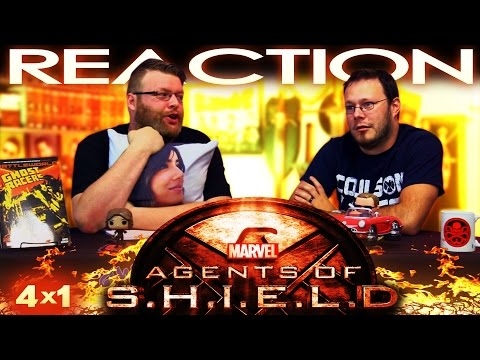 """Agents of Shield 4x1 """"The Ghost"""" REACTION - REVIEW - QNA"""