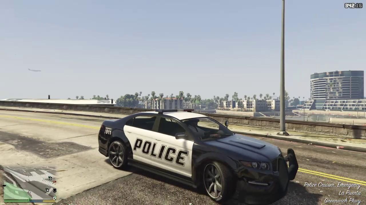 GTA 5 POLICE CAR GLITCH (VERY EASY)