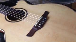 Takamine P3FCN Unboxing