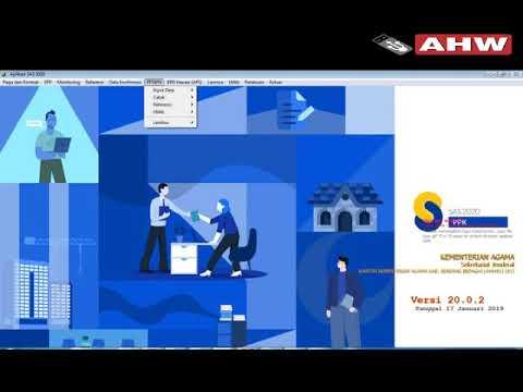 Cara Penarikan Data PPNPN 2019 di SAS 2019 ke Aplikasi SAS 2020 ...