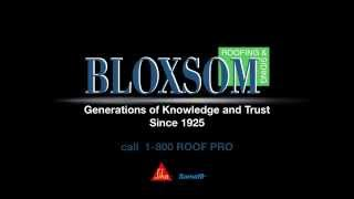 The Concrete Service - Bloxsom Roofing - Traverse City Michigan