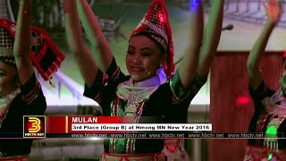 3 HMONG NEWS: Mulan dance at the opening of Lao Family Foundation appreciation dinner.