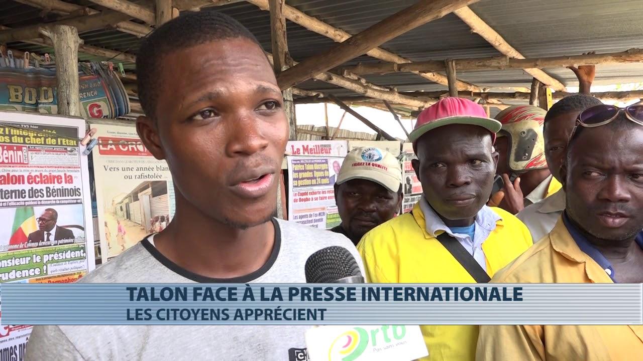 Les populations apprécient la sortie de Patrice Talon face à la presse internationale