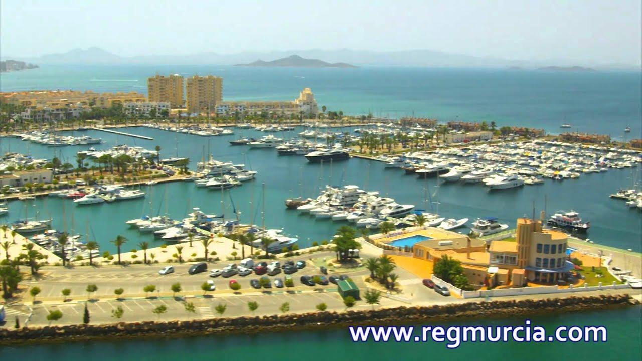 Paisajes de la Región de Murcia: Mar Menor - YouTube