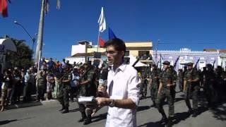 Reportagem - Desfile Caetité 2 de Julho 2014 (Rádio Web Astral)