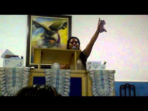 Culto MInha Familia No Altar De Deus.. Testemulho Miss: Ivoe - parte ...