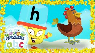 Learn to Read | Phonics for Kids | Letter Sounds -  H, B, F, L
