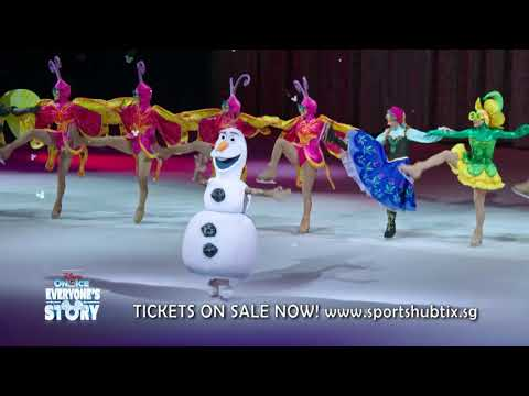 Disney on Ice celebrates Everyone's Story Singapore