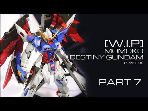 [W.I.P] Momoko MG 1/100 Destiny Gundam Metal build ver - phần 7