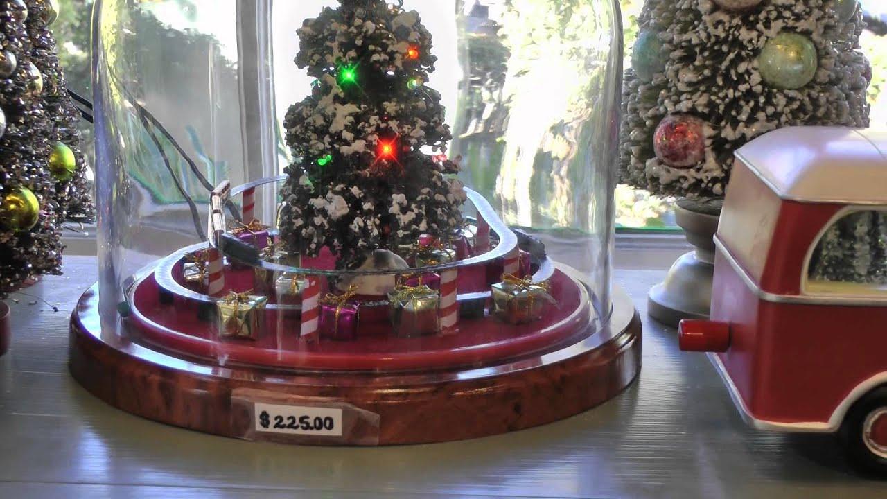 Christmas Train Domes, Mistletoe Holiday Store, Seaport Village, San Diego,  Ca