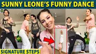 Sunny Leone's Funny Dance Steps with her Husband Daniel | Sunny Leone family - 05-04-2020 Tamil Cinema News