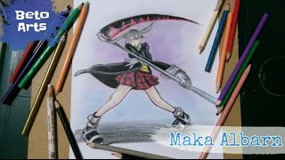 Speed Drawing - Maka Albarn (Soul Eater)