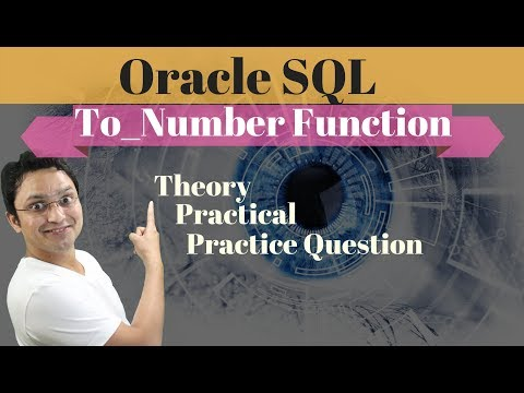 Tutorial#45 TO_NUMBER Function | Convert Varchar Value Into Number Format