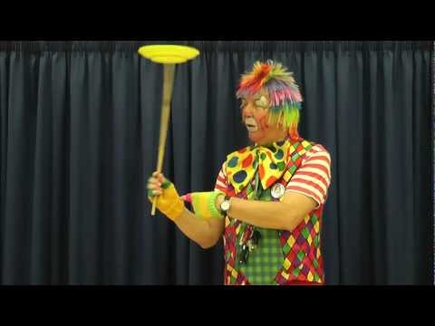 How to spin a plate by Gary the Musical Clown