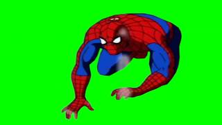 spiderman screaming no after mary jane dies greenscreen