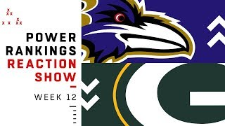 NFL Power Rankings Week 12 Reaction Show: What Did We Learn About the Rams? | NFL Network