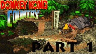 Donkey Kong Country Part 1: Kongo Jungle