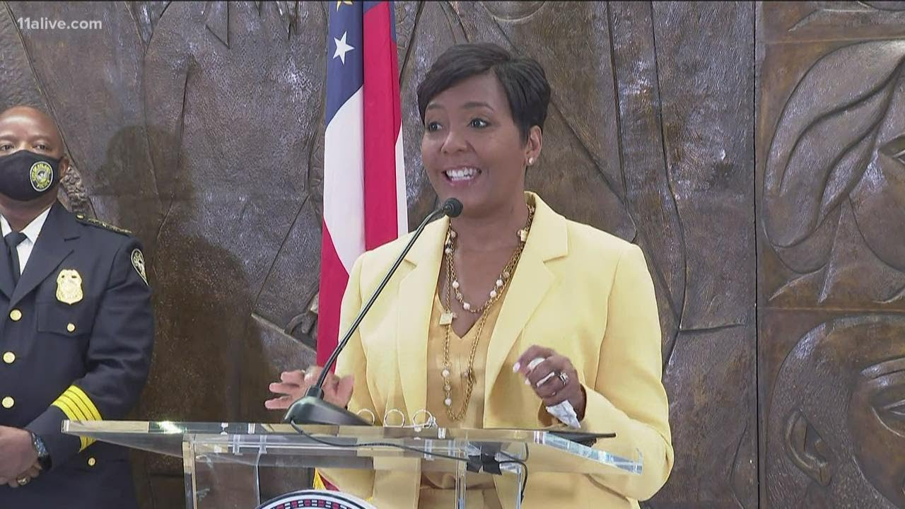 Atlanta Mayor Keisha Lance Bottoms Won't Seek Second Term