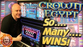 What's Better Than 3 Jackpots? ✦ 4 BIG WIN$ on Crown of Egypt! ✦ | The Big Jackpot