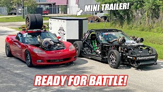 homepage tile video photo for FINAL Test Driving Leroy and Ruby Before RACE WEEK! + New Mini Trailer!!!