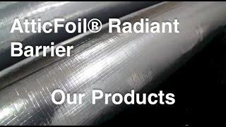 Radiant Barrier Product Line - AtticFoil.com Thumbnail
