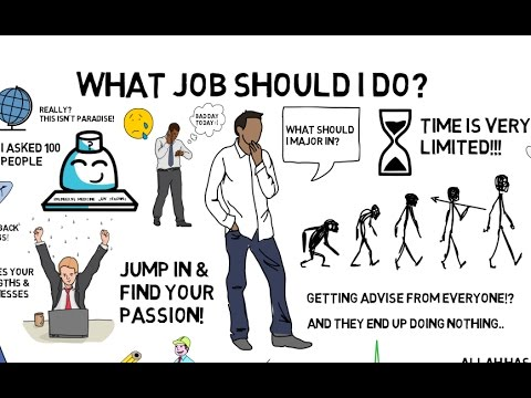 WHAT JOB SHOULD I DO? - Nouman Ali Khan Animated