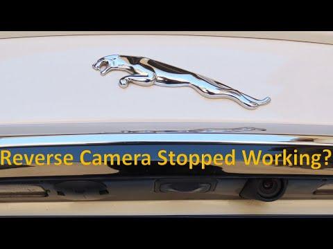 How to fix your Jaguar's reverse camera black/blue screen