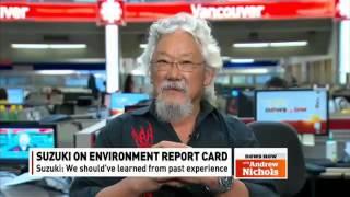 Suzuki on environment report CBC February 5, 2013